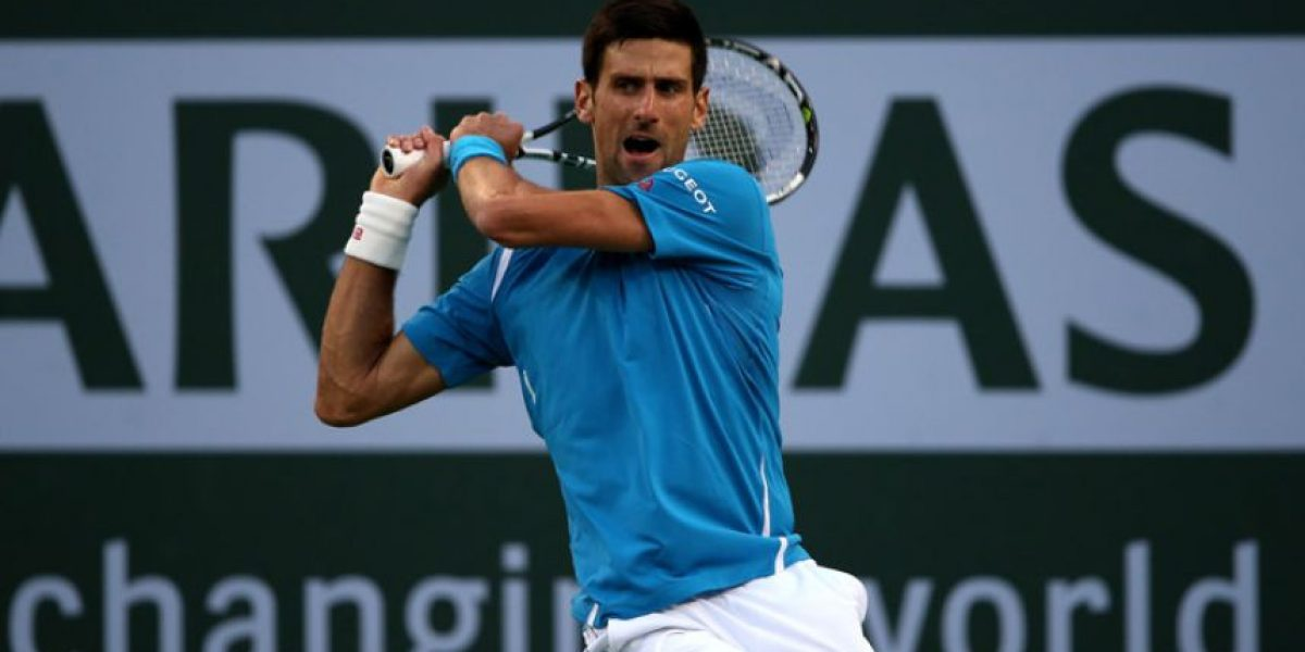 Novak Djokovic avanza en el Indian Wells 2016