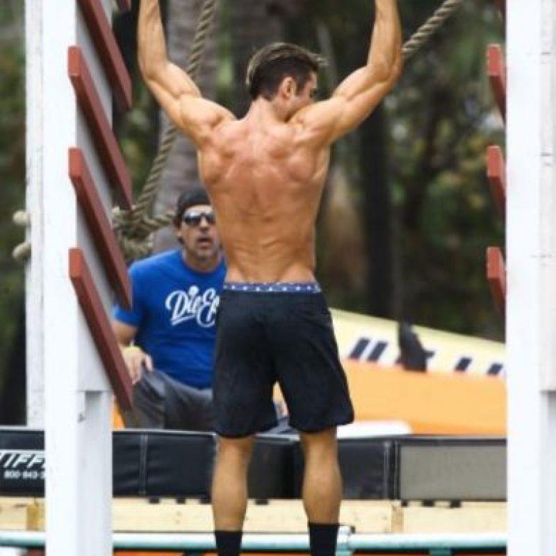 El actor tiene un dura rutina de ejercicio en el gimnasio. Foto:Grosby Group