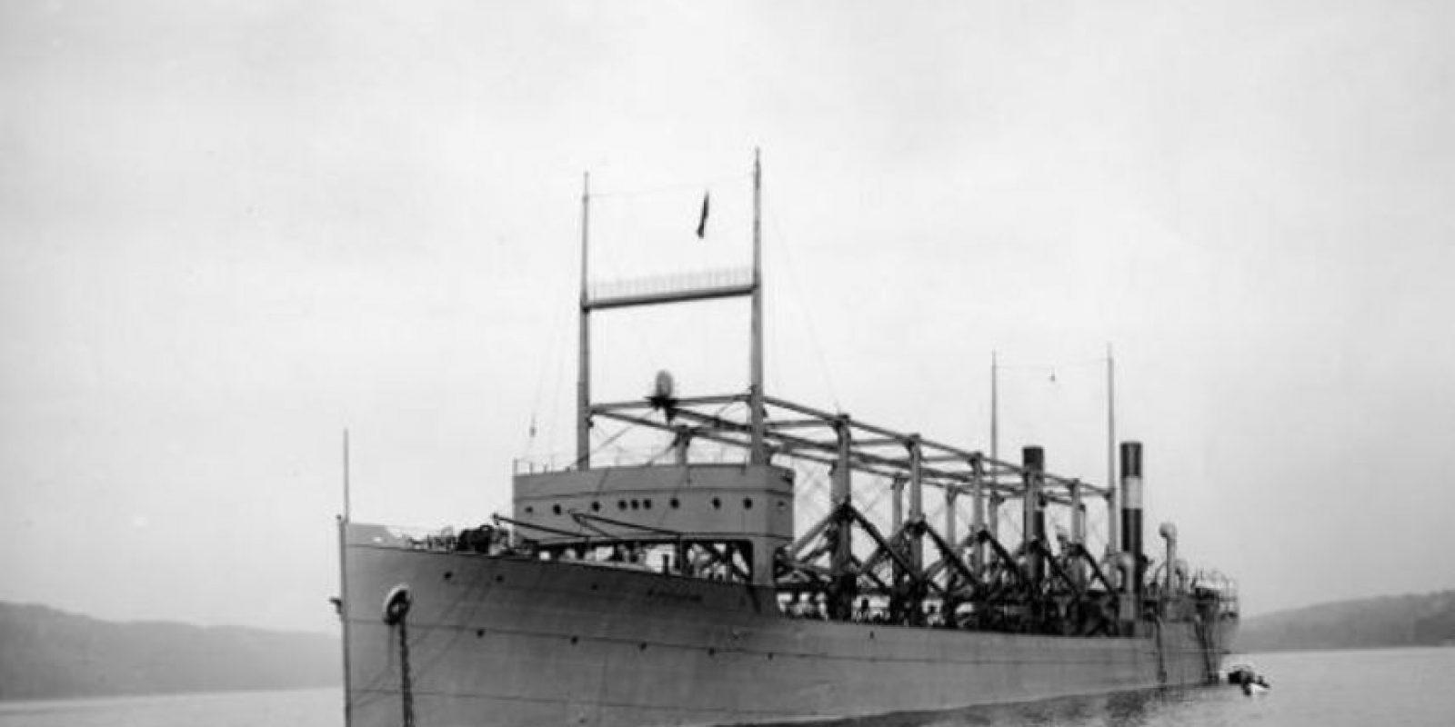 El 4 de marzo de 1918 la nave norteamericana USS Cyclop partió desde Barbados para desaparecer horas más tarde con sus 309 pasajeros Foto:Wikipedia.org
