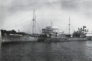El barco Marine Sulphur Queen, desaparecido el 4 de febrero de 1963 con sus 39 tripulantes. Foto:Wikipedia.org