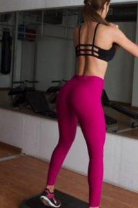 """La """"Chica del Clima"""" comparte su rutina de ejercicios en Instagram Foto:Vía instagram.com/iamyanetgarcia"""