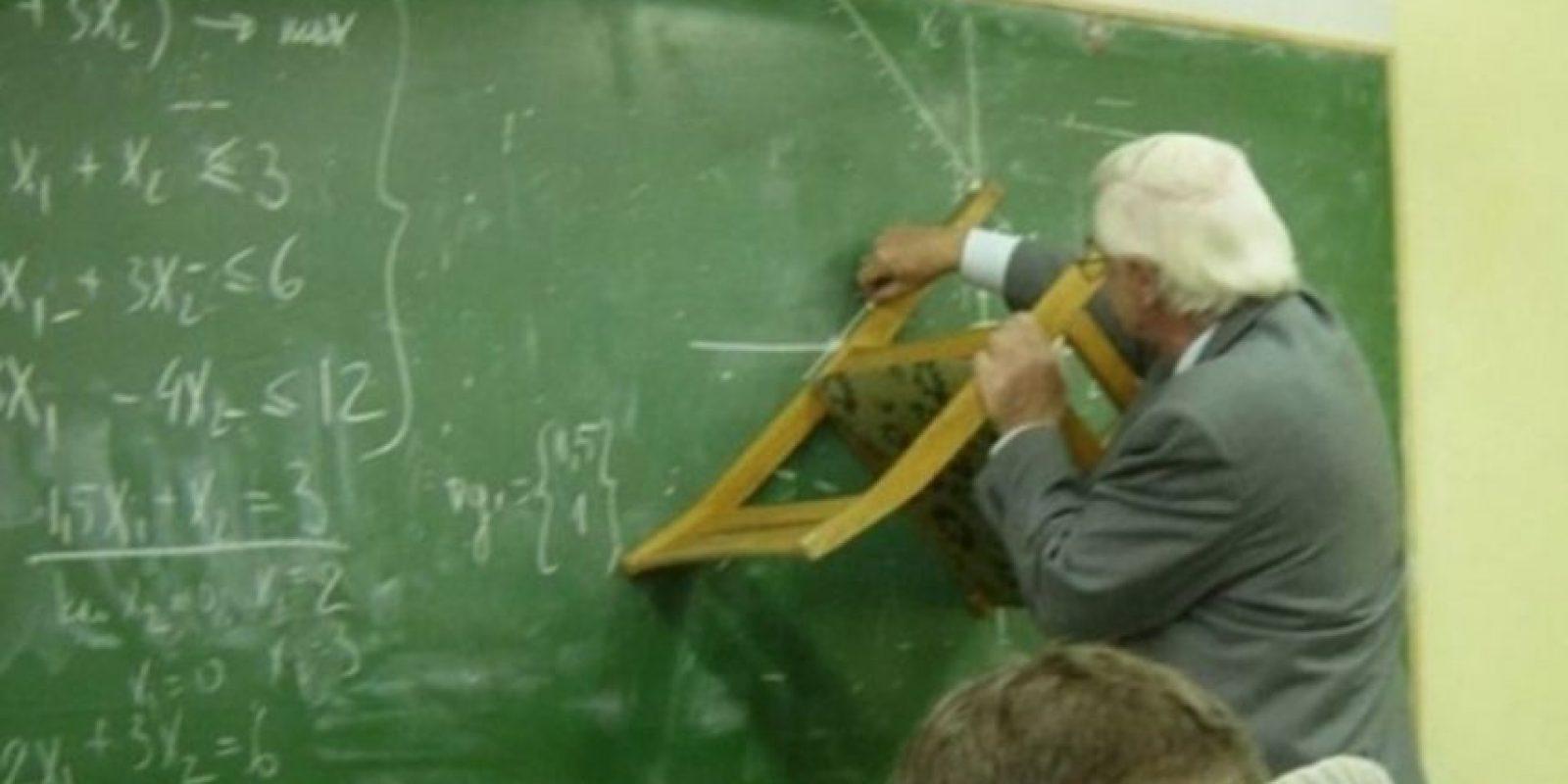 Estos profesores también sorprendieron a sus alumnos Foto:Reddit