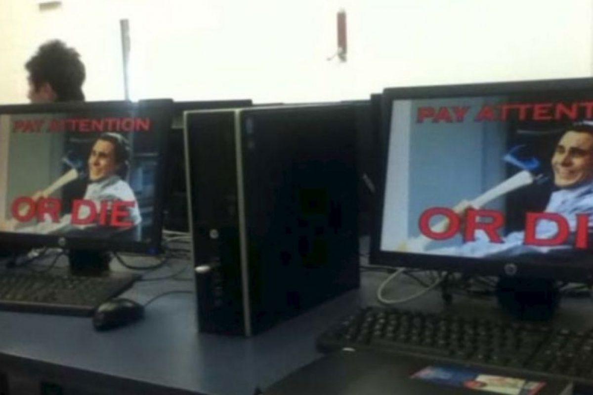 Estos profesores también sorprendieron a sus alumnos Foto:Imgur