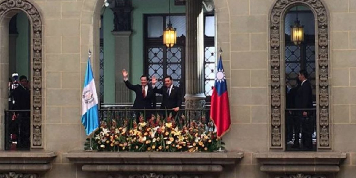 Presidente Taiwán visita Guatemala para reafirmar relación