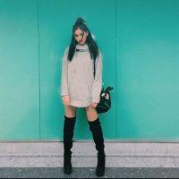 La joven cautivó por su parecido con Irina Shayk Foto:Vía Instagram.com/wolfiecindy