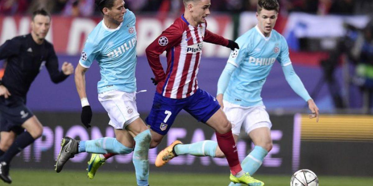Resultado resultado del partido Atlético de Madrid vs. PSV Eindhoven, octavos de final Champions League 2016