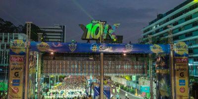 Lo que no se vio de la carrera 10K Nocturna