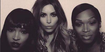 ¿Qué le pasó a los labios de Kim Kardashian?