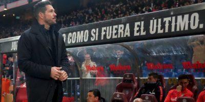 """El DT de los """"colchoneros"""", Diego Simeone, busca meter a su equipo entre los ocho mejores de Europa Foto:Getty Images"""