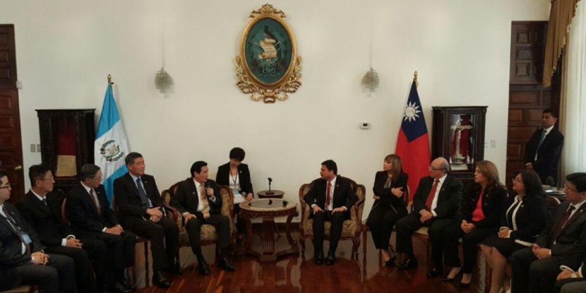 Fotos. Presidente de Taiwán deja mensaje en la Corte Suprema de Justicia