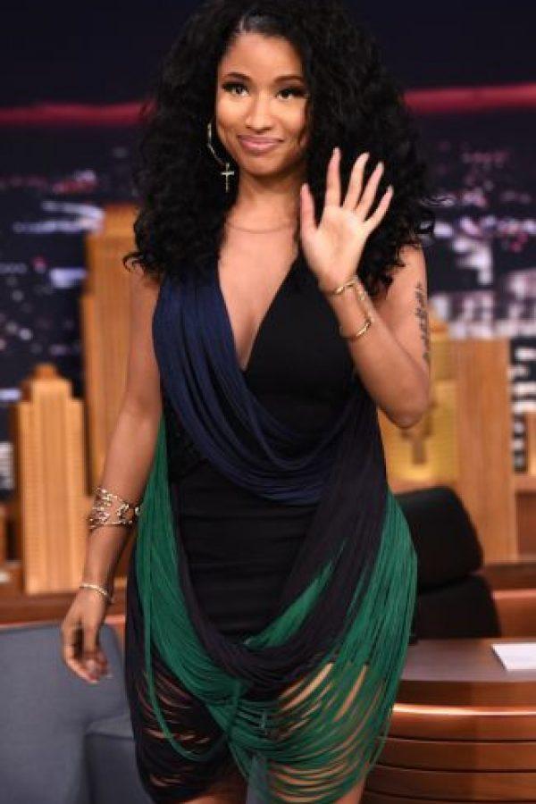 Nicki Minaj también tiene grandes caderas. Foto:vía Getty Images
