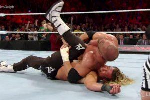 Triple H venció a Dolph Ziggler Foto:WWE