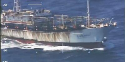 Video: Argentina hunde buque chino de pesca ilegal