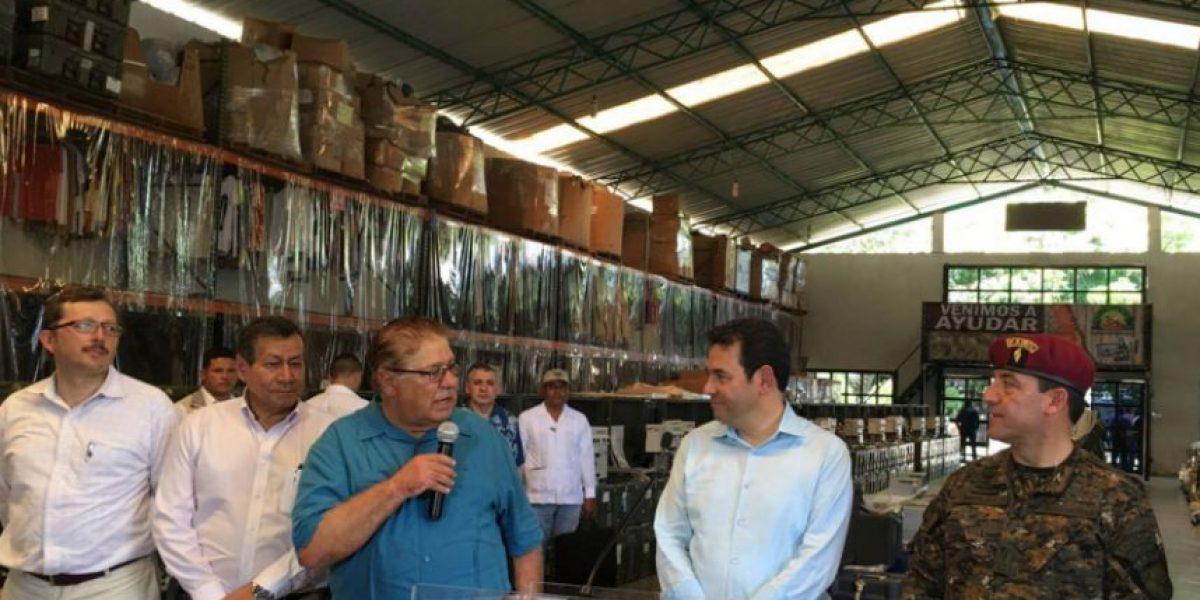 Presidente Morales asegura que nueva donación de medicina no está vencida