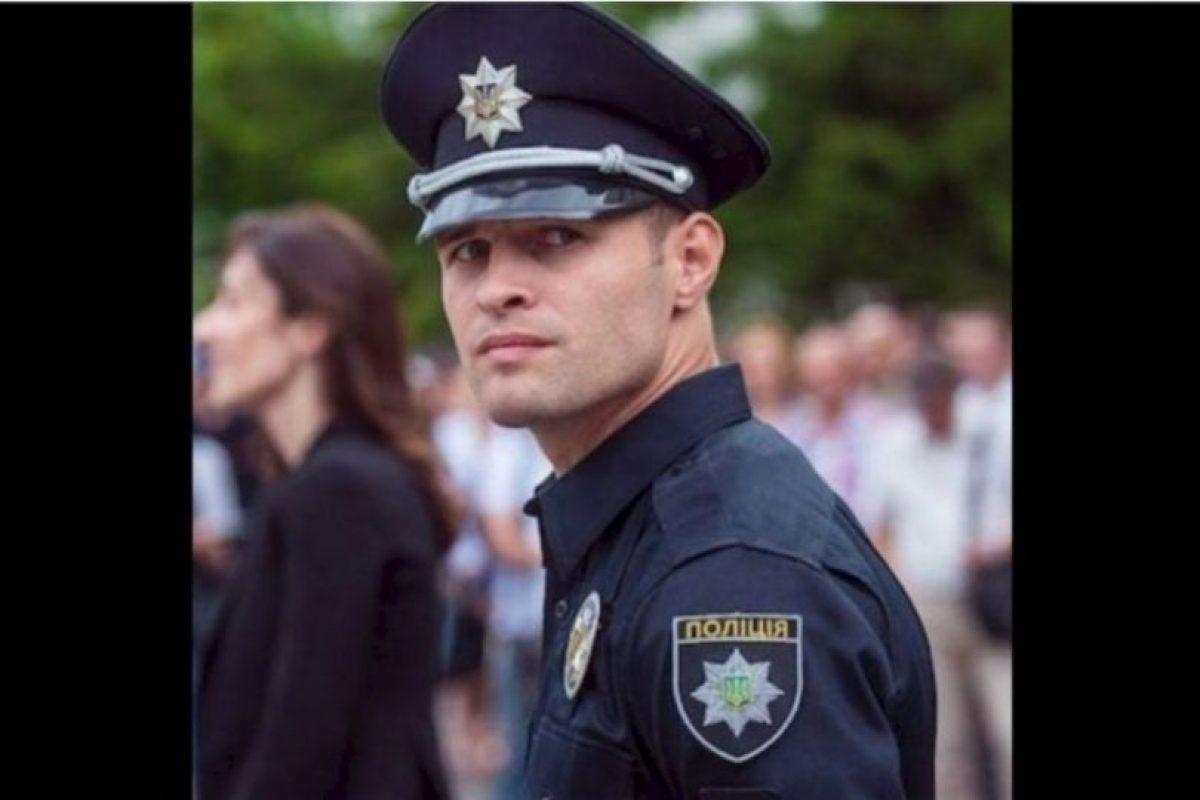 5. Los más guapos policías de Ucrania Foto:Twitter