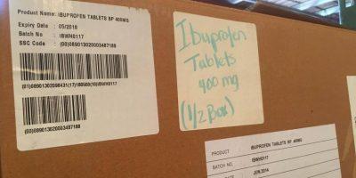 Fechas de vencimiento de la nueva donación de medicamentos