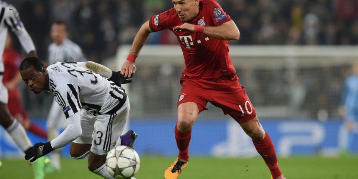 ¿Es esta la imagen más polémica de los octavos de final de la Champions League?