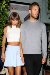 Calvin Harris y Taylor Swift festejaron un año de relación Foto:Grosby Group