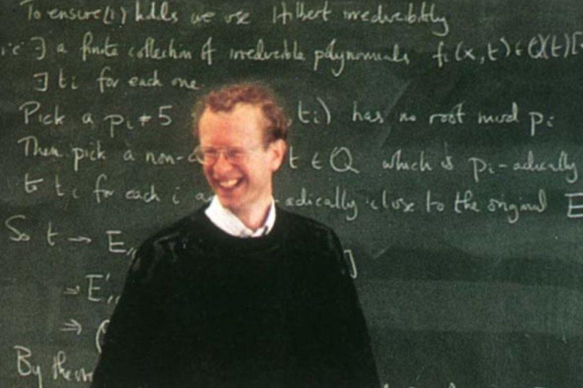 Wiles es uno de los académicos más respetados de Europa. Foto:Oxford University