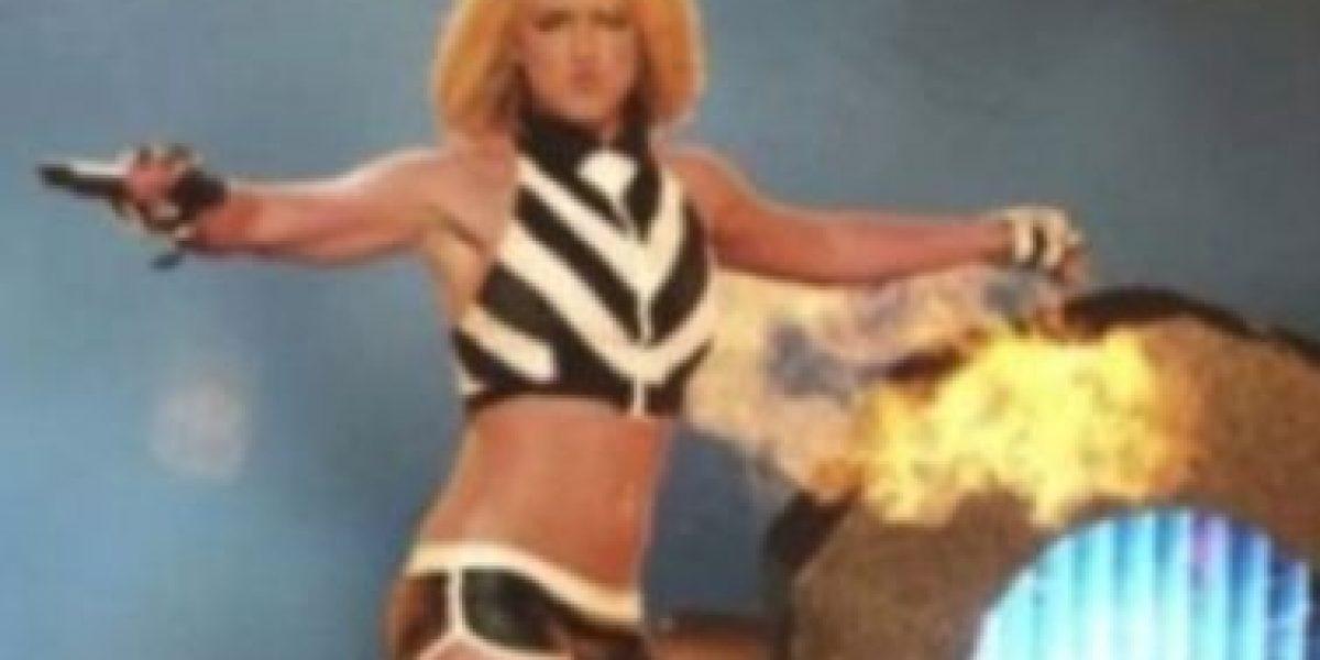 Britney Spears retomó su look de