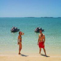 Calvin Harris y Taylor Swift festejaron un año de relación
