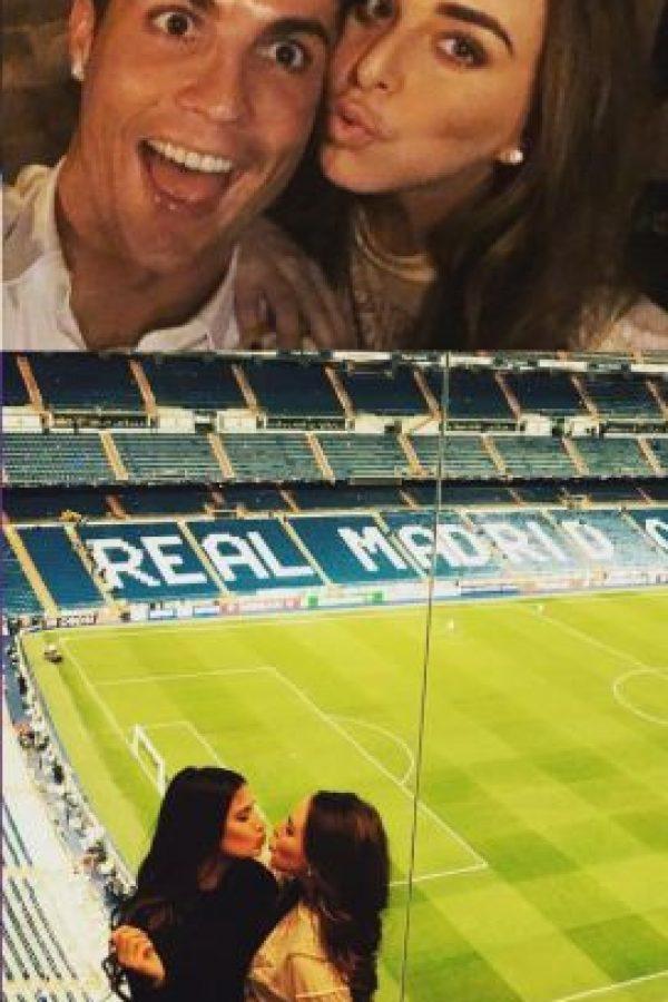 Esta es la imagen que compartió en sus redes sociales Foto:Vía instagram.com/chloegreen5