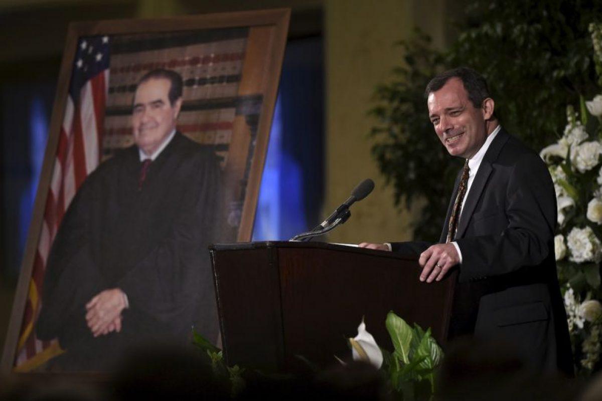 Era considerado como uno de los pilares del ala conservadora de la Corte hasta que falleció el 13 de febrero de 2016 Foto:AP