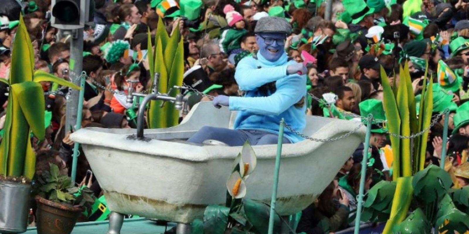 Y hubo desfiles conmemorativos en Irlanda Foto:AFP