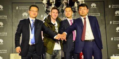 "Huawei engancha al ""Mejor jugador del planeta"""