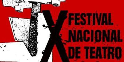 Detalles del X Festival Nacional de Teatro