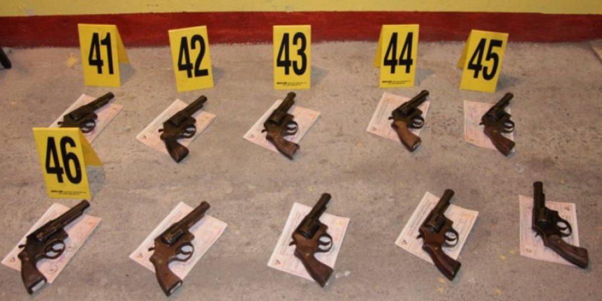PNC decomisa 107 armas a empresa de seguridad privada por este detalle