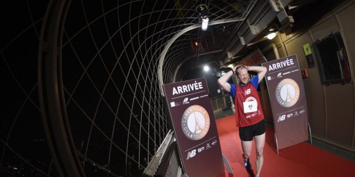 Detalles de la carrera para subir la Torre Eiffel 2016