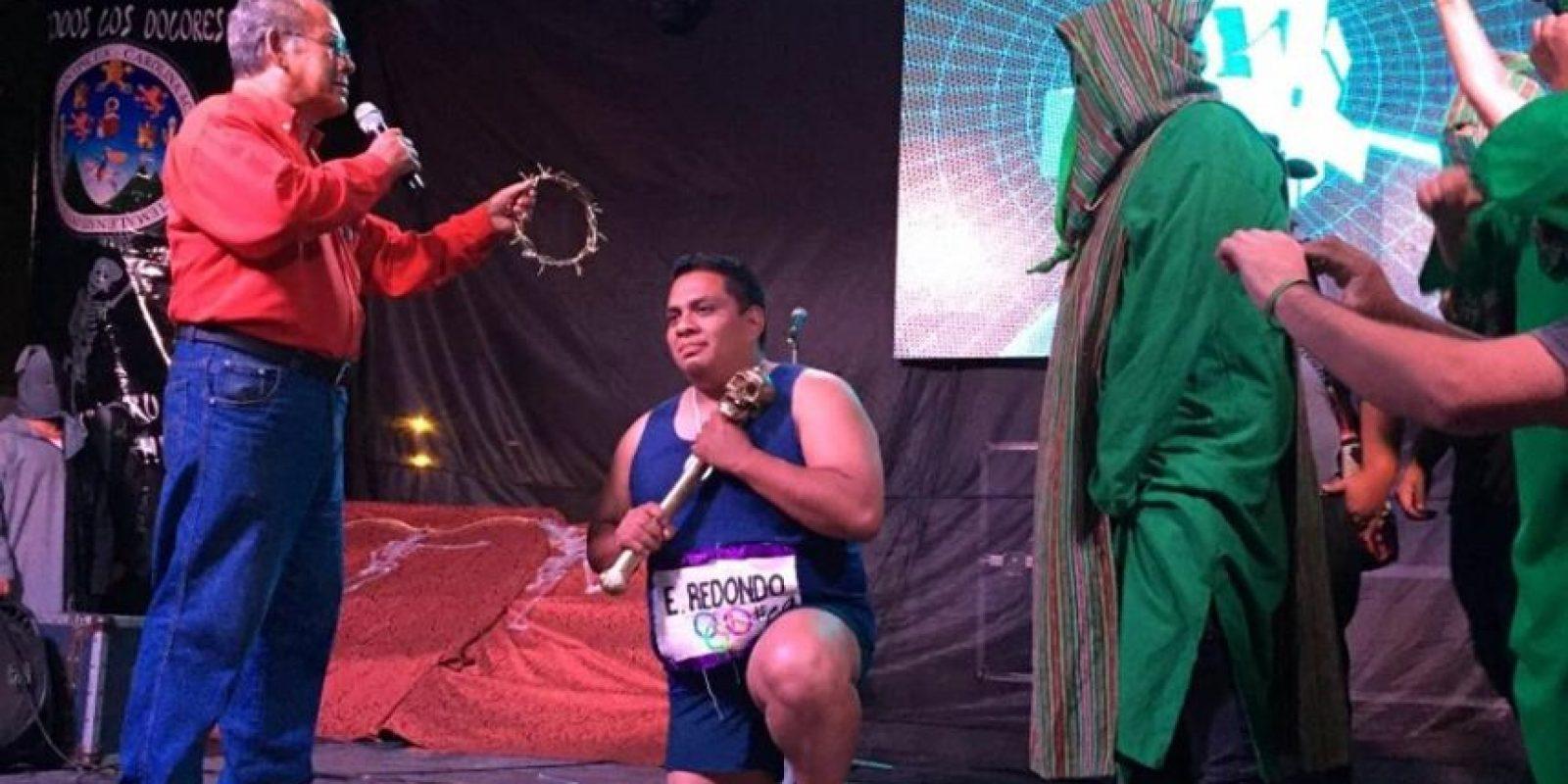 E-Redondo, el rey feo 2016. Foto:Cortesía