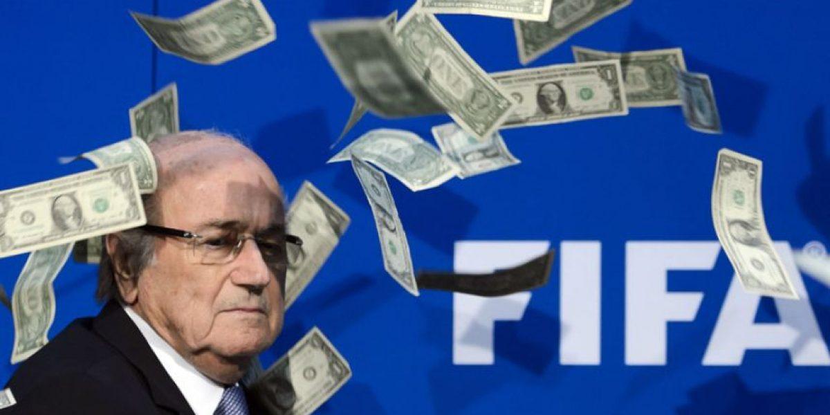 FIFA pagó a Joseph Blatter 3,76 millones en 2015