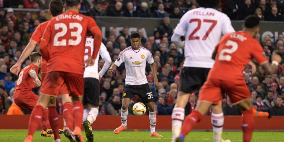 Resultado del partido Manchester United vs. Liverpool, vuelta octavos de final Europa League 2016