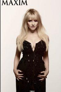 """Melissa tiene 35 años. está casada con Winston Rausch (su compañero de escritura en varios proyectos) y es una actriz """"petite"""". Foto:vía Maxim"""