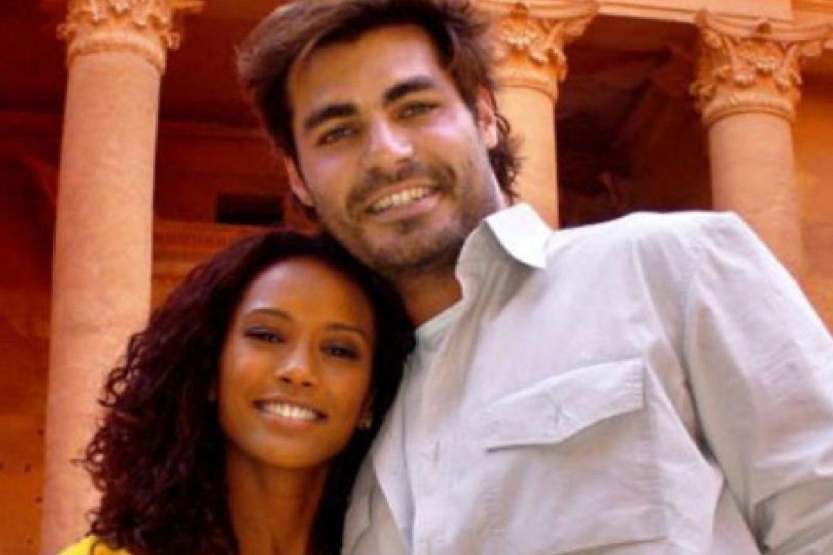 Está casada. Foto:vía Globo