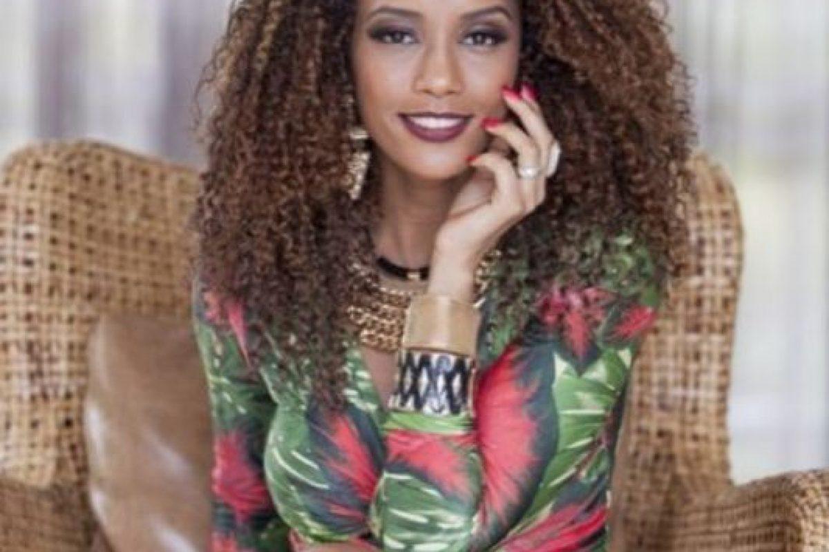 Y ha sido protagonista de varias campañas de belleza. Foto:vía Facebook/Taís Araújo