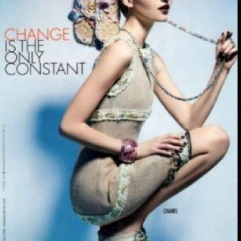Tatiana Lyadochkina pesa 49 kilos (108 libras) Foto:Vogue
