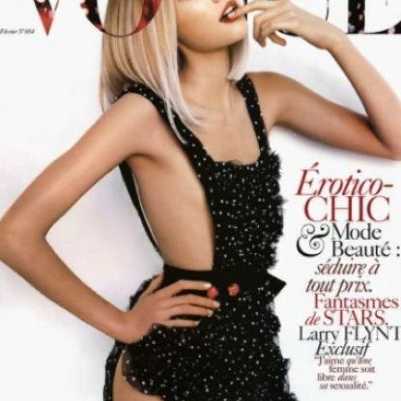 Gemma Ward pesa 48 kilos (105 libras) Foto:Vogue