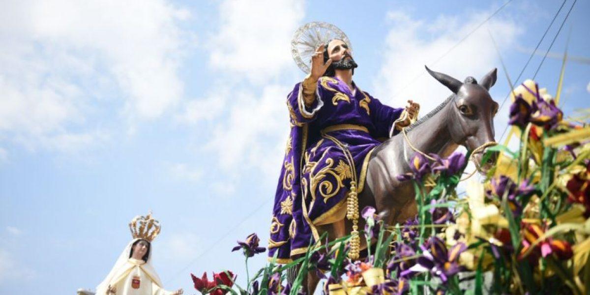 Procesión de Jesús de las Palmas Capuchinas, Domingo de Ramos 20 de marzo de 2016