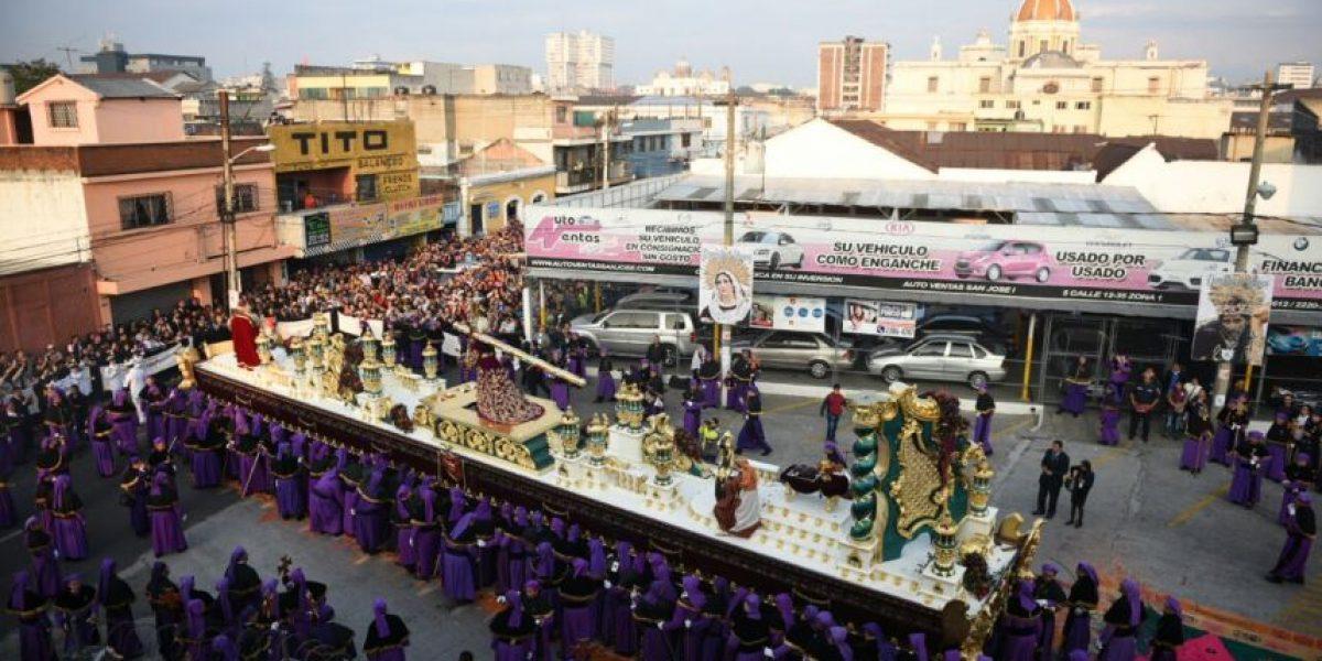 Procesión de Jesús de los Milagros, Domingo de Ramos 20 de marzo de 2016