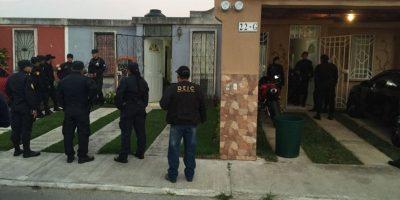 """Policía realiza capturas de peligrosa banda llamada """"los Tumbadores"""""""