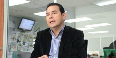 ¿De qué fue operado Jimmy Morales hace una semana?