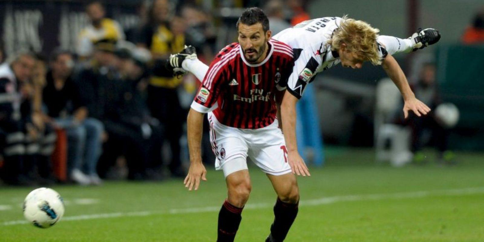 Entre otros clubes, militó en Juventus, Milán y Barcelona Foto:Getty Images