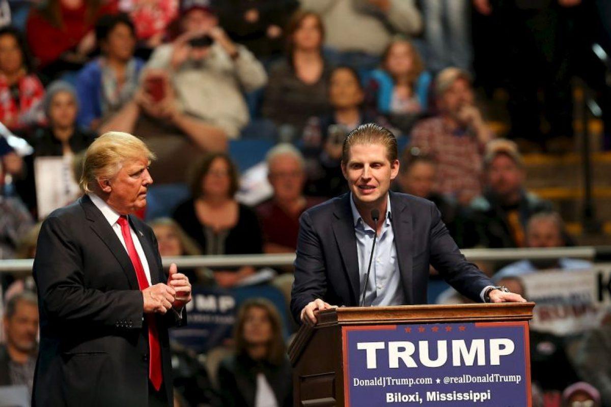 Eric Trump Foto:Getty Images