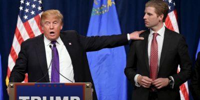 Eric Trump recibió una carta con amenazas hacia su padre Foto:Getty Images