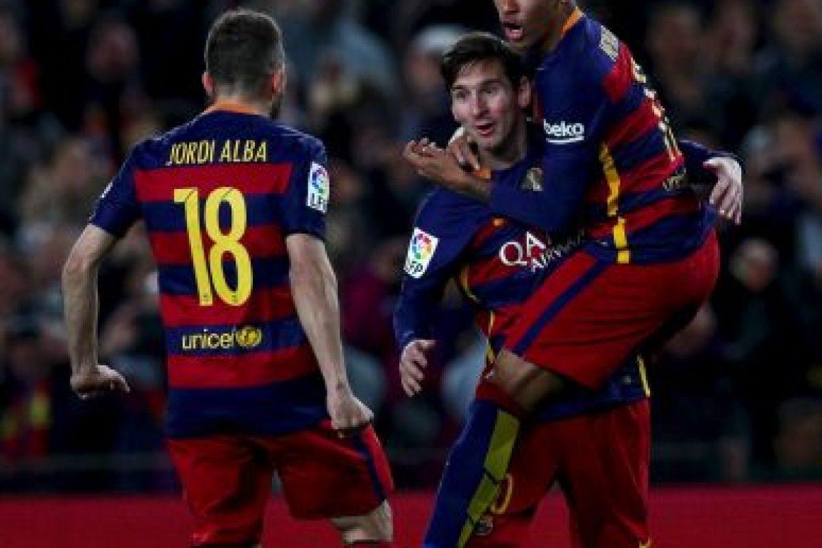 Lionel Messi no ha jugado de forma profesional en otro club que no sea Barcelona Foto:Getty Images