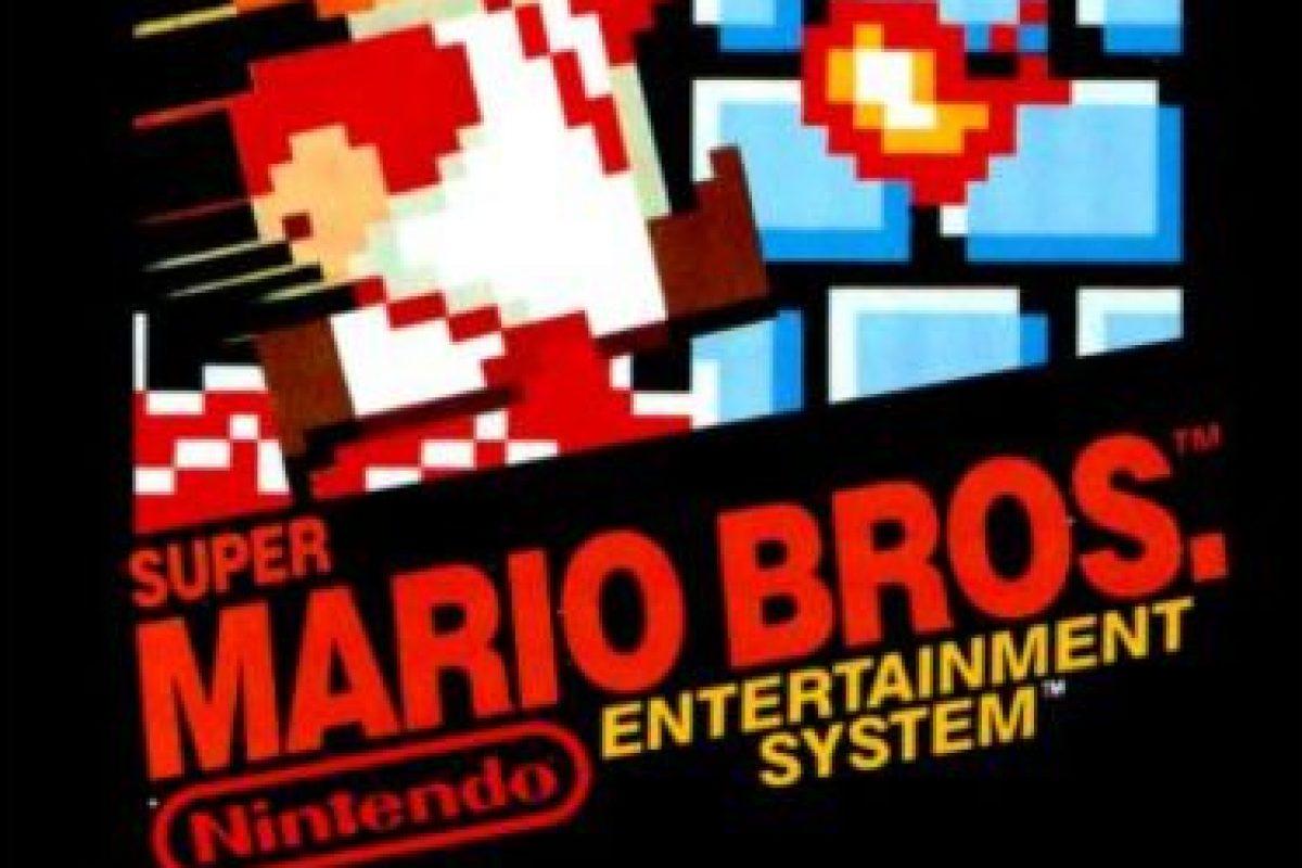 """10.- """"Super Mario Bros."""" para Ness. Foto:Nintendo"""