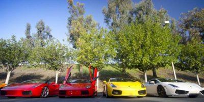Los famosos y los lujosos autos que conducen. Foto:Twitter